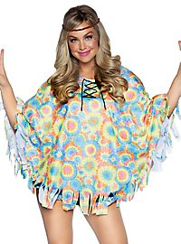 Hippie Poncho with hairband