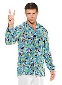 Hippie Shirt blue