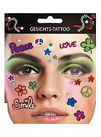 Hippie tattoo glue