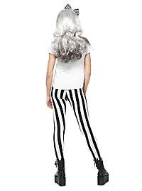 Hipster Skelett Dame Kostüm