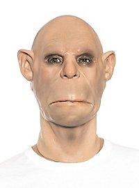 Höhlenmensch Maske aus Schaumlatex