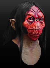Höhlenmonster Maske aus Latex