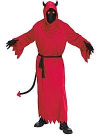 Höllenaugen Dämon Kostüm mit Leuchteffekt