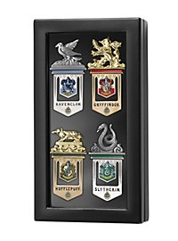 Hogwarts Bookmark Set with Display Case