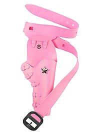 Holster à pistolet rose