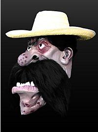 Hombre Riesenmaske aus Latex