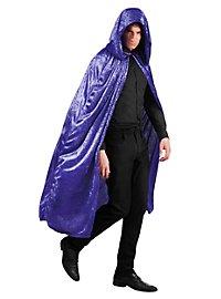 Hooded Cape purple