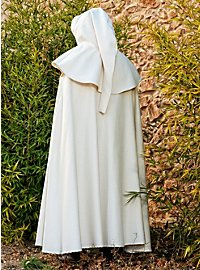 Hooded Cape white