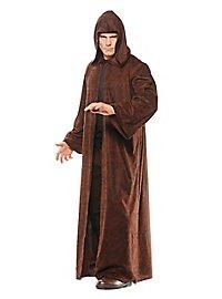 Hooded coat brown