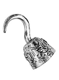 hook hand pirate silver