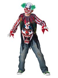 Horror Clown Kids Costume
