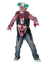 Horror Clown Kids Costume