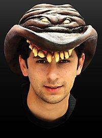 Horror Cowboyhut braun aus Latex