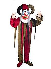 Horror Harlekin Clownskostüm