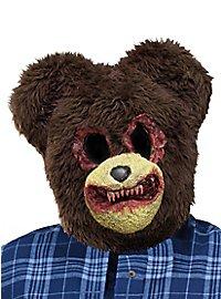 Horror Teddybär Maske
