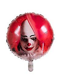 Horrorclown Folienballon