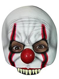 Horrorclown half mask for children