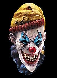 Horrorclown Maske aus Latex
