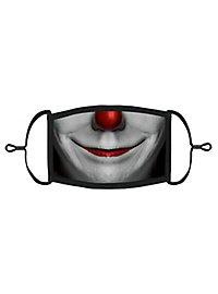 Horrorclown Mund-Nasen-Maske