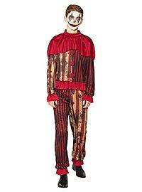 Horrorfilm Clown Kostüm für Jugendliche