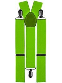 Hosenträger grün
