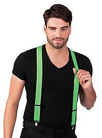 Hosenträger neon-grün