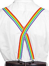 Hosenträger regenbogenfarben