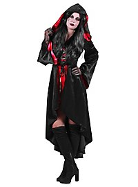 Hot devil hooded dress