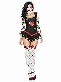 Hot Queen of Hearts Costume