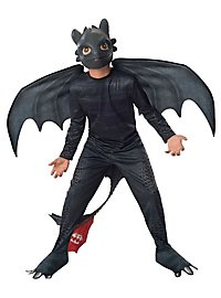 How to Train Your Dragon Toothless Kids Costume