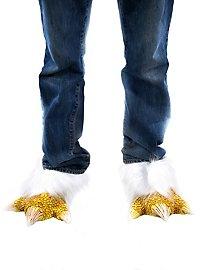 Hühnerfüße Schuhstulpen