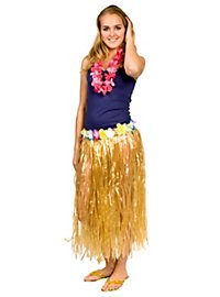 Hula Skirt natural Costume