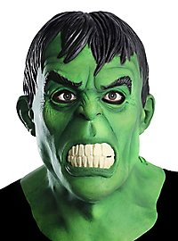 Hulk full mask made of latex