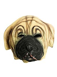 Hundemaske Mastiff aus Latex