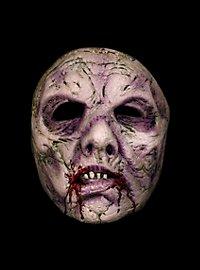 Hungriger Zombie Halbmaske aus Latex