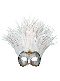 Incas Colombina argento piume bianche