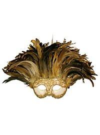 Incas Colombina Stucco craquele oro - masque vénitien