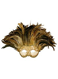 Incas Colombina Stucco craquele oro - Venezianische Maske