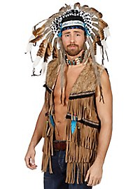 Indian vest with fringes