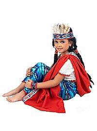 Indianer Prinzessin Kinderkostüm