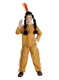 Indianerjunge Kinderkostüm (Sonderposten)