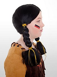 Indienne Pocahontas Perruque enfant