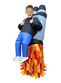 Inflatable Carry Me Child Costume Jetpack