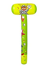 Inflatable clown hammer