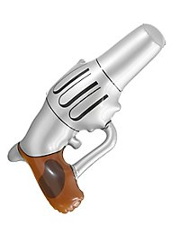 Inflatable cowboy gun