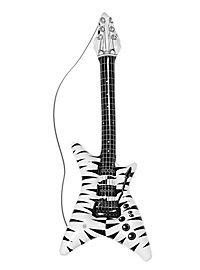 Inflatable Guitar Zebra Pattern