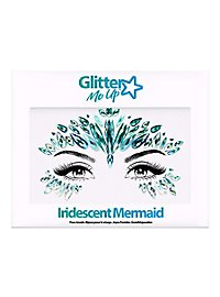 Iridescent Mermaid Face Jewels Gesichtsschmuck