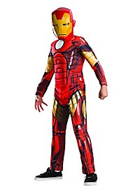 Iron Man Comic Child Costume