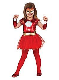 Iron Man Girls Kids Costume