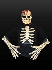 Irrer Skelettmann Kostüm